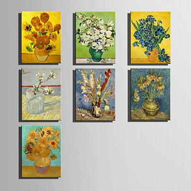 Estampado Laminado Impressão De Canvas - Famoso Clássico / Estilo Europeu
