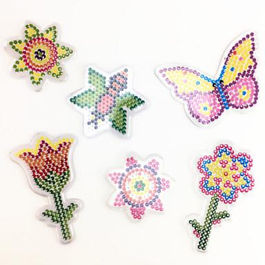 Holzpuzzle Bildungsspielsachen Kunst & Malspielzeug Schmetterling Blume Heimwerken Kinder Unisex