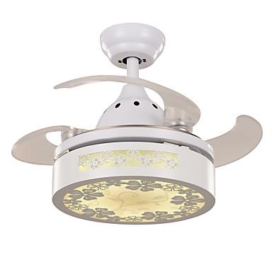 Ecolight™ Ventilador de teto Luz Ambiente - LED, Moderno / Contemporâneo, 220-240V, Branco Quente Branco, Lâmpada Incluída