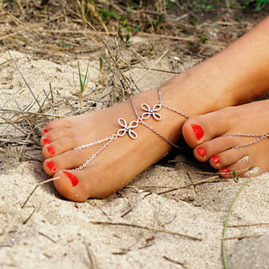 Women's Anklet/Bracelet Alloy Unique Design Fashion Simple Style European Costume Jewelry Jewelry Jewelry For Daily Casual
