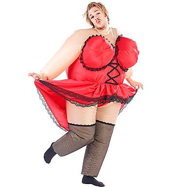 Mulher Sensual Fantasias de Cosplay Impermeável Fantasia Inflável Artigos de Halloween Cosplay de Filmes Collant / Pijama Macacão