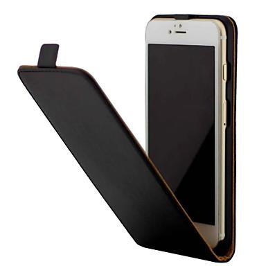Capinha Para Apple iPhone 7 Plus iPhone 7 Antichoque Flip Capa Proteção Completa Côr Sólida Rígida PU Leather para iPhone 7 Plus iPhone 7