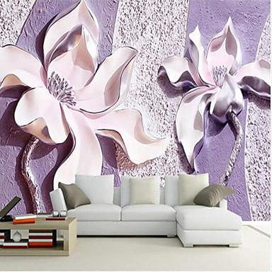 جدارية كنفا تغليف الجدران - لاصق المطلوبة ورد 3D
