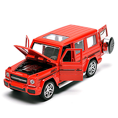hesapli Oyuncaklar ve Oyunlar-Oyuncak Arabalar Geri Çekme Araçları SUV Araba Klasik Unisex Genç Erkek Genç Kız Oyuncaklar Hediye