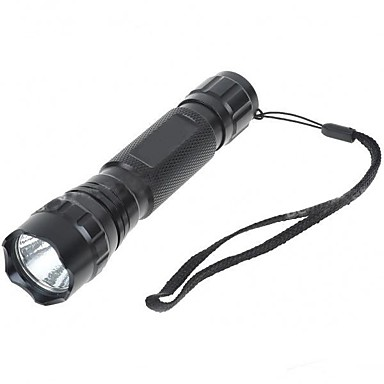 LED Flashlights / Torch LED 1000 lm 5 Mode - Nonslip grip Super Light Camping/Hiking/Caving Everyday Use Cycling/Bike Hunting Outdoor