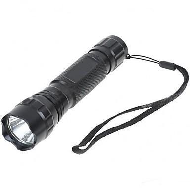 LED Lommelygter LED 1000lm lm 5 Modus - Glidesikkert Greb Super Lett Camping / Vandring / Grotte Udforskning Dagligdags Brug Sykling Jakt
