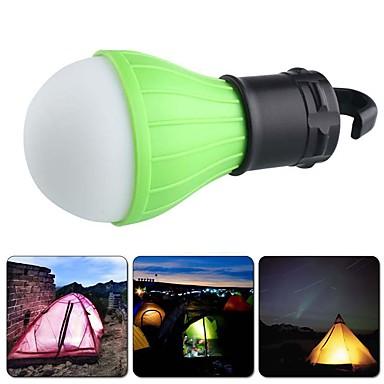 رخيصةأون المصابيح اليدوية وفوانيس الإضاءة للتخييم-Lanterns & Tent Lights LED بواعث 60 lm 3 إضاءة الوضع صغير حالة طوارئ قياس صغير Camping / Hiking / Caving Everyday Use متعددة الوظائف أحمر أخضر أزرق