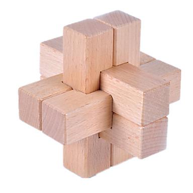 나무 퍼즐 IQ 두뇌 운동 루반 락 IQ 테스트 재미 나무 클래식