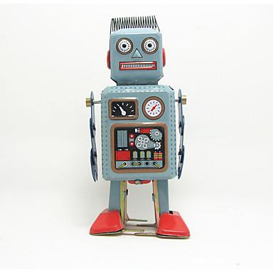 Robô / Brinquedos de Corda Máquina / Robô Metalic / Ferro Anime 1 pcs Peças Crianças Dom