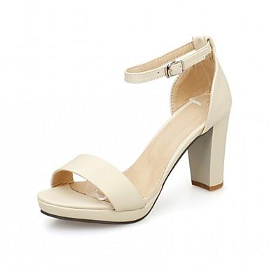 Bout 05775759 Chaussures rond Semelles ouvert Automne Légères Polyuréthane Confort Bottier Bout Sandales Eté Marche Similicuir Femme Talon 7WOTqdaa