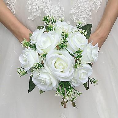 زهور الزفاف باقات زفاف ستان 7.87