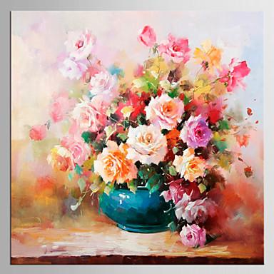 Giclée Print Blumenmuster/Botanisch Klassisch Modern, Ein Panel Segeltuch Quadratisch Druck Wand Dekoration Haus Dekoration
