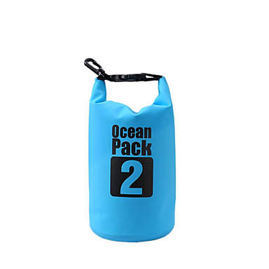 2L حقيبة للماء جاف خفيف الوزن, الطفو, مقاوم للماء إلى تزلج على الماء / غوص / سباحة