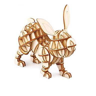 3D - Puzzle Tier Spaß Holz Klassisch