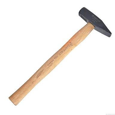 Stahl Schild Holz Griff fitter Hammer 300g