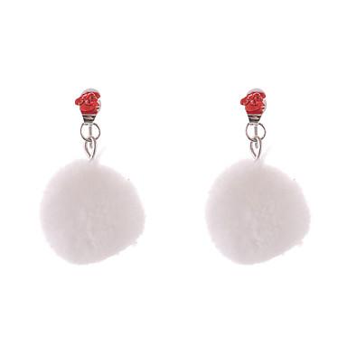 여성용 드랍 귀걸이 - 사치, 보헤미안, 스트레치 화이트 제품 파티 / 생일 / 고맙습니다