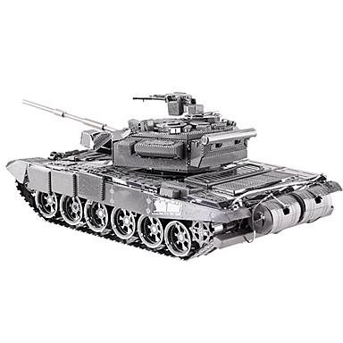 voordelige 3D-puzzels-3D-puzzels Legpuzzel Metalen puzzels Tank DHZ Metallic Kinderen Volwassenen Unisex Geschenk