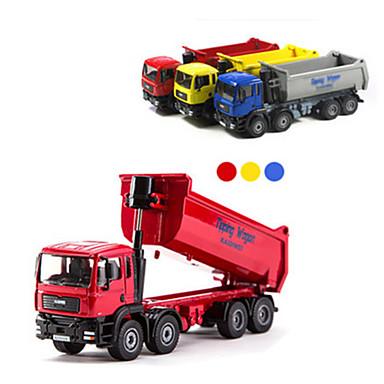 Caminhão basculante Caminhões & Veículos de Construção Civil Carros de Brinquedo 1:87 Metal Para Meninos Crianças Brinquedos Dom