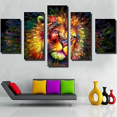 Kunstdrucke Zeitgenössisch,Fünf Panele Horizontal Druck Wand Dekoration For Haus Dekoration