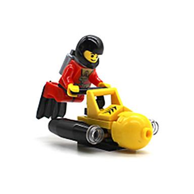 ENLIGHTEN Blocos de Construir pçs Quadrada Para Meninos Unisexo Brinquedos Dom
