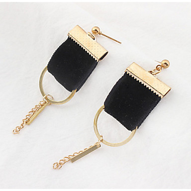 Damen Mädchen Ohrstecker Tropfen-Ohrringe Kreolen Imitierte Perlen Basis Einzigartiges Design Freundschaft individualisiert Hip-Hop Rock