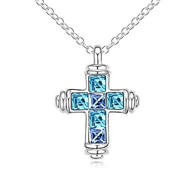 Dámské Náhrdelníky s přívěšky Šperky Šperky Štras Slitina Módní Euramerican Šperky Pro Svatební Párty