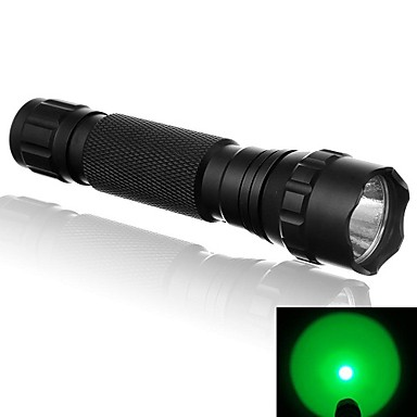 LED Flashlights / Torch LED 500 lm 1 Mode LED Lighting Lights Nonslip grip Super Light Camping/Hiking/Caving Cycling/Bike Outdoor