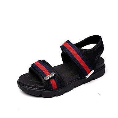 Jungen Schuhe PVC Sommer Herbst Komfort Sandalen Walking Klett Für Normal Schwarz Grün Blau