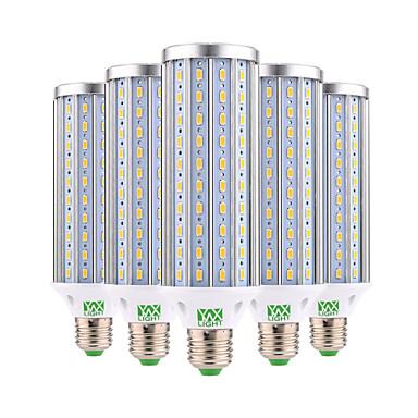 YWXLIGHT® 5 Stück 45W 4350-4450lm E26 / E27 LED Mais-Birnen 140 LED-Perlen SMD 5730 Dekorativ Warmes Weiß Kühles Weiß 85-265V