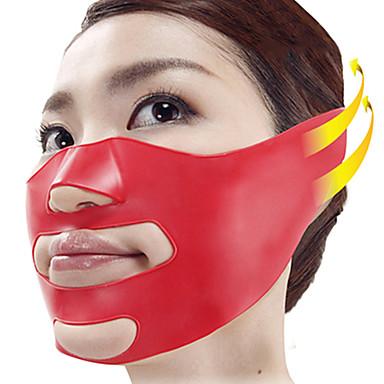 Silicone V Face Slimmer Cheek Lift Thin Massage Mask Facial Slimmer Contour Shaper Anti Sag Belt