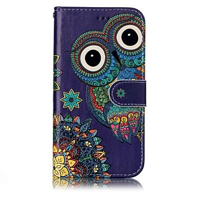 Capinha Para Samsung Galaxy A5(2017) A3(2017) Porta-Cartão Carteira Com Suporte Flip Magnética Estampada Com Relevo Capa Proteção Completa