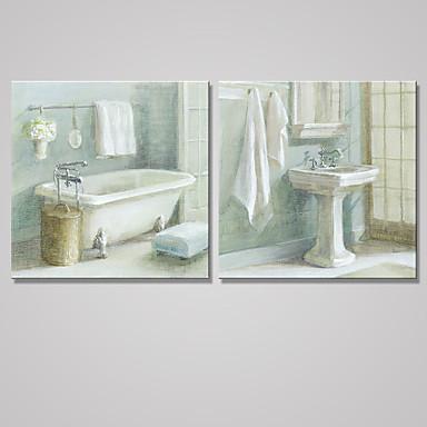 Reprodukce maleb na plátně Zátiší Moderní Klasický,Dva panely Plátno Čtvercový Tisk Art Wall Decor For Home dekorace