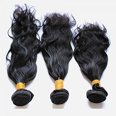 3 Bundles Peruvian Hair Natural Wave Virgin Human Hair Natural Color Hair Weaves 8-28 inch Human Hair Weaves Human Hair Extensions