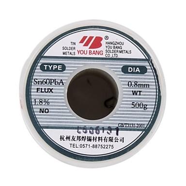 Série de fio de solda activa aia sn60pba - 0,5 mm - 500 g / volume