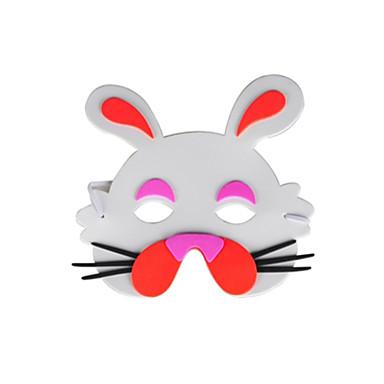 Halloweenské masky Sváteční potřeby Masky zvířat Maska animovaná Hračky Zábava Jídlo a nápoje Klasické Pieces Dětské Unisex Dárek