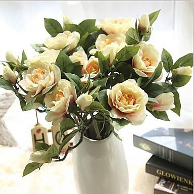 Künstliche Blumen 10pcs Ast Moderner Stil Gardenien Tisch-Blumen