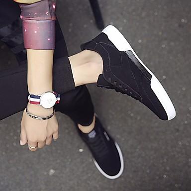 Herren Schuhe Tüll Frühling Komfort Sneakers Für Normal Schwarz Grau