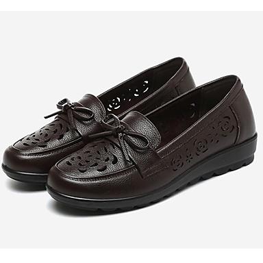 Ballerines Amande Noir Chaussures Printemps Confort Femme 05962896 Marron Cuir zvx0qRwwI