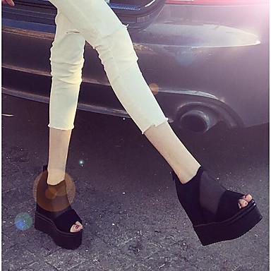 Naisten Kengät Tyll Kevät Sandaalit Musta