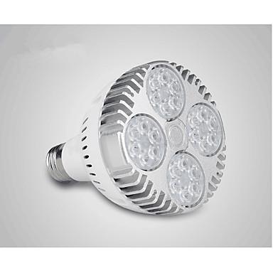 36W 400-450lm LED Par Lights 24 LED Beads High Power LED White 220-240V