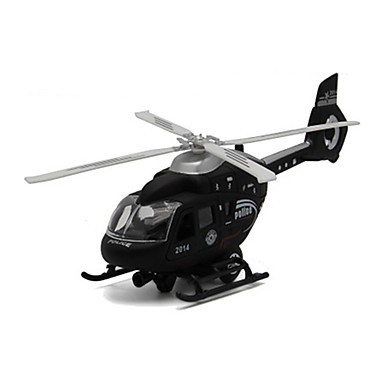 Brinquedos Brinquedos de Montar Helicóptero Brinquedos Simulação Aeronave Eagle Helicóptero Liga de Metal ABS Metal Peças Unisexo Dom