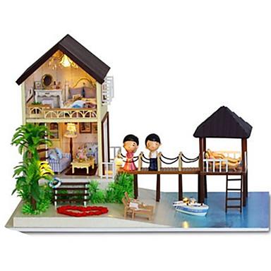 CUTE ROOM Modellbausätze Spielzeuge Heimwerken Holz Klassisch Stücke Unisex Geschenk