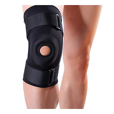 Knee Brace for Running Scratch Resistant / Wear-Resistant / Vibration dampening Outdoor clothing 1pc Black