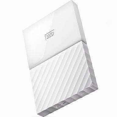 wd wdbynn0010bwt-cesn 1TB 2,5 tuuman flash valkoinen ulkoinen kiintolevy USB3.0