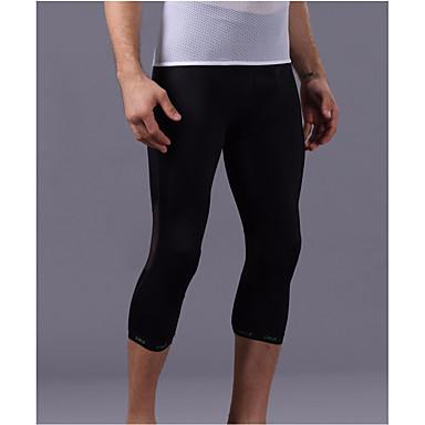 Pánské Dámské Koşu Taytları Legíny na cvičení Spodní část oděvu pro Lezení Fitness Běh Černá M L XL XXL XXXL