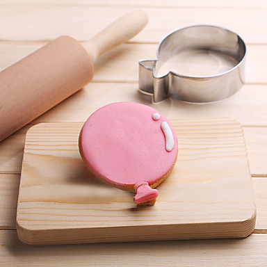 balão de biscoitos cortador de aço inoxidável biscoito bolo molde cozinha ferramentas de cozimento