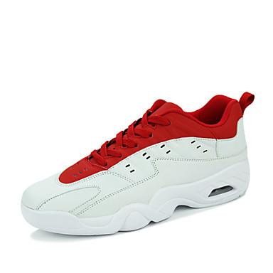 Herren Sportschuhe Komfort paar Schuhe maßgeschneiderte Werkstoffe Frühling Sommer Outddor Lässig Sportlich Basketball Flacher Absatz