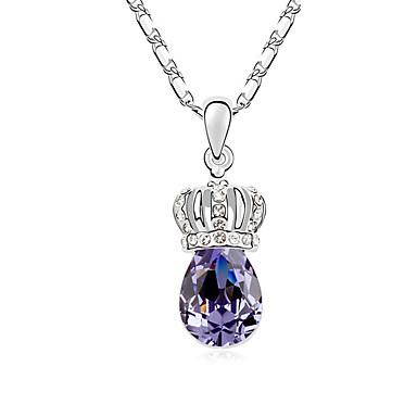 Dámské Náhrdelníky s přívěšky Šperky Šperky Křišťál Slitina Módní Euramerican Šperky Pro Svatební Párty