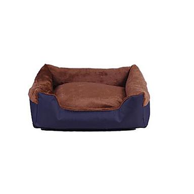 Cachorro Camas Animais de Estimação Capachos e Alcochoadas Sólido Quente / Macio Marron / Rosa claro Para animais de estimação