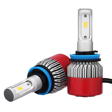 H8 H11 H9 Carro Lâmpadas 36W W LED Integrado 3600lm lm LED Lâmpada de Farol